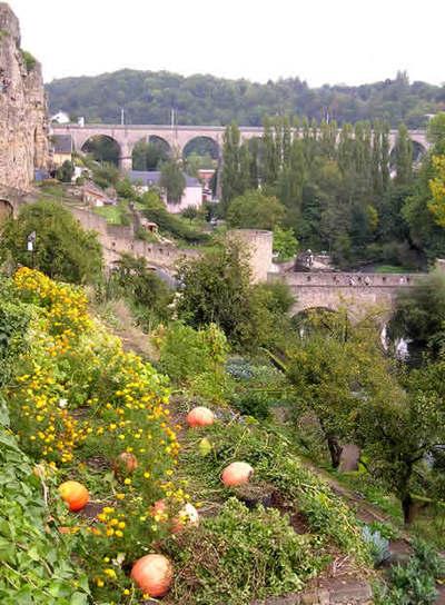 Fortificaciones típicas del Gran Ducado de Luxemburgo
