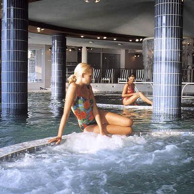 Tratamiento de talasoterapia en el Hotel Atlanthal de Anglet, Francia