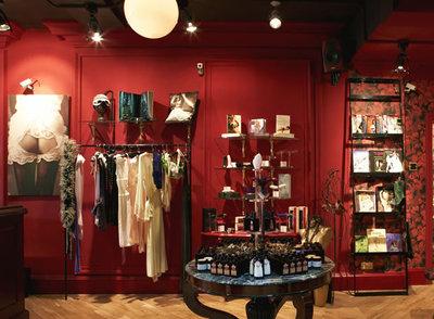 Boutique de lencería y objetos eróticos en Covent Garden