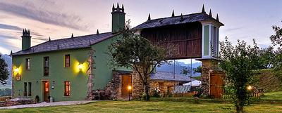 A Casa de Piego, en Foz (Lugo), una de las nuevas incorporaciones a la guía de Ruralka.