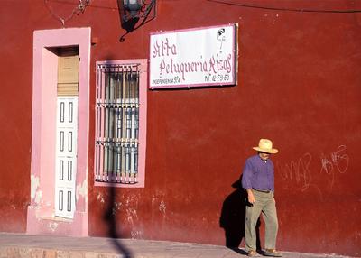 La calle de la Independencia en Queretaro.