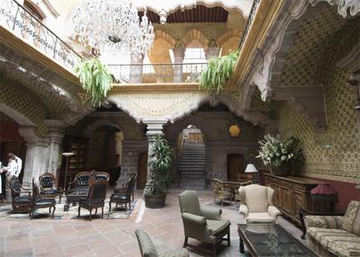 La Casa de la Marquesa convertida en hotel.