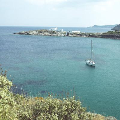 Una cala en la isla griega de Sifnos.