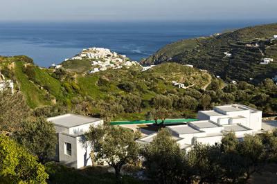 Hotel Kamaroti Suites, en Sifnos (Grecia).