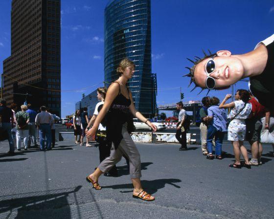 Potsdamer Platz, en Berlín.
