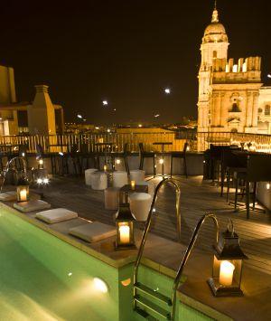 Terrazas para despedir el verano el viajero el pa s for Hotel diseno malaga