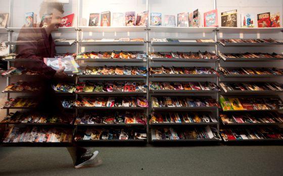 Interior de la tienda Isotope.