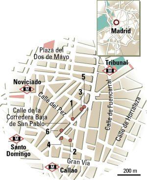 Calle alta calle baja el viajero el pa s for Calle loreto prado y enrique chicote 13