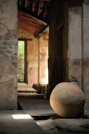 Una casa de Pompeya.
