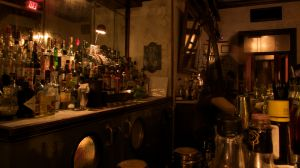 Bar Delmano Hotel, en Williamsburg (Brooklyn).