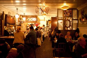 Restaurante Vinegar Hill House, en Dumbo.