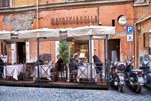 Terraza de Matricianella, en Roma.