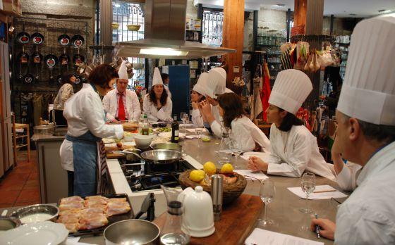 Aprendices de chef el viajero el pa s - Escuela de cocina chema de isidro ...
