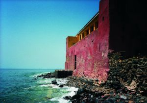 Fuerte de la isla senegalesa de Gorée.