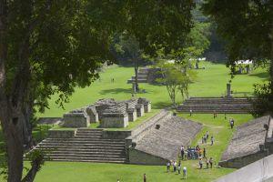 Las ruinas maya de Copán, en Honduras.