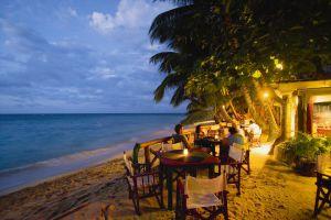Un chiringuito de playa en Las Terrenas (República Dominicana).