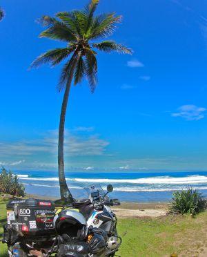 Las playas de Sumatra son un paraíso para los amantes del surf.