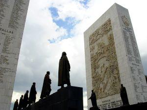 El monumento a los Próceres, en Caracas (Venezuela).