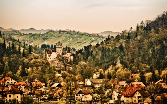 Castillo de Bran, en Transilvania (Rumania).