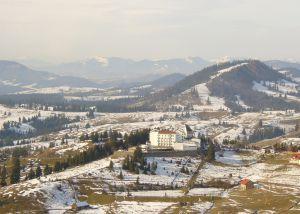 Vista de Pieatra Fantanele, paisaje en el que Bram Stoker situó el castillo del Drácula en su novela.