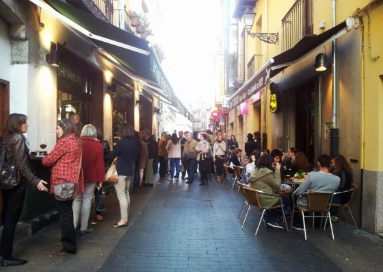 Tapas por el barrio Húmedo de León