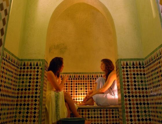 Baños Arabes Antiguos: Tangerina cuenta con varios detalles que mantienen su sabor antiguo