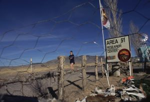 El Area 51, en Nevada.