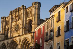 Fachada de la catedral de Cuenca.