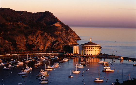 Santa Catalina, una isla de cine