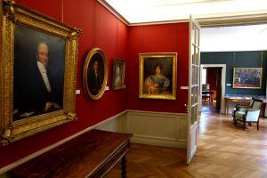 Retratos familiares en la Maison Balzac, situada cerca de los parisienses jardines del Trocadero.