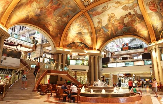Buenos Aires: un centro comercial monumental