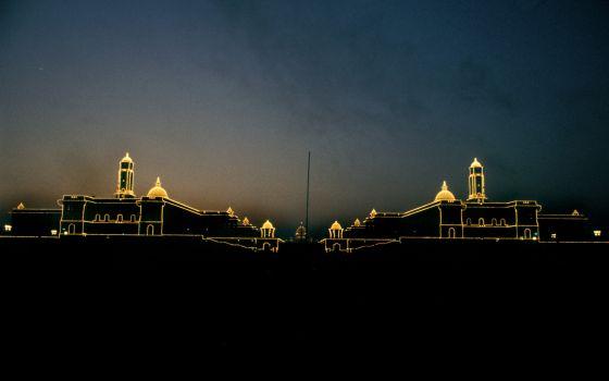 Calma en la caótica Nueva Delhi