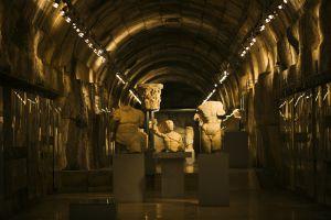 Museo del yacimiento de Baalbek, en Líbano.