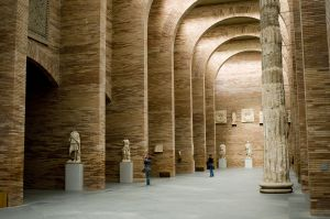 Museo de Arte Romano de Mérida, proyectado por Rafael Moneo.
