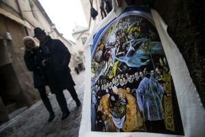 'Souvenirs' en las calles del centro de Toledo.