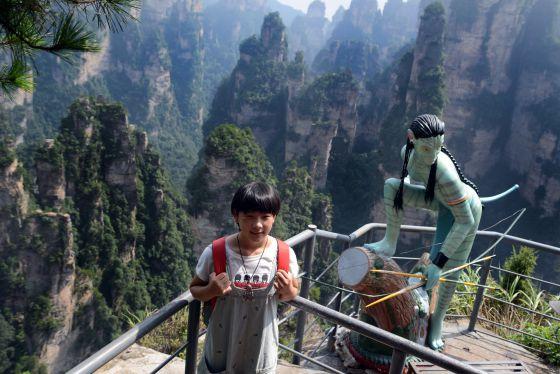 El paisaje chino de 'Avatar'