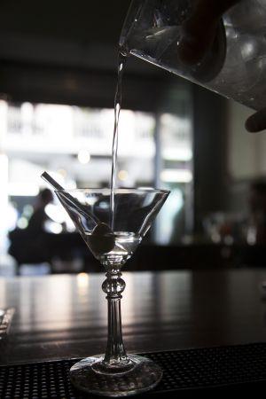 A Martini at 1862 Dry Bar.
