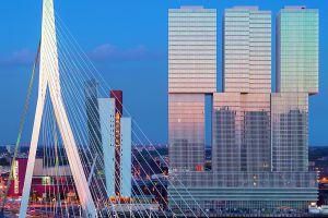 El nuevo rascacielos de Rem Koolhaas en Róterdam (Holanda).