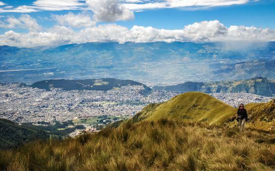 Volcanes y 'canelazo' en Quito
