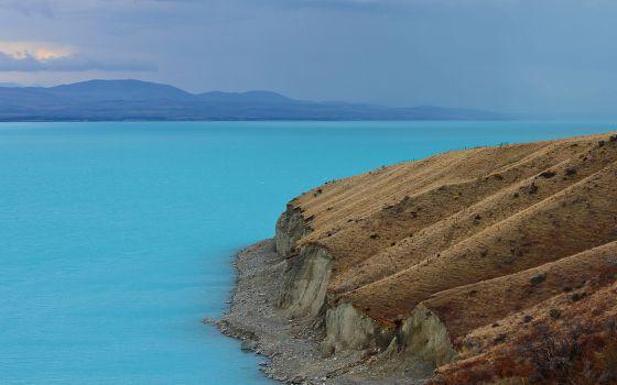 El lago más azul de Nueva Zelanda