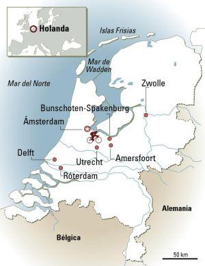 Holanda, culto a la bici
