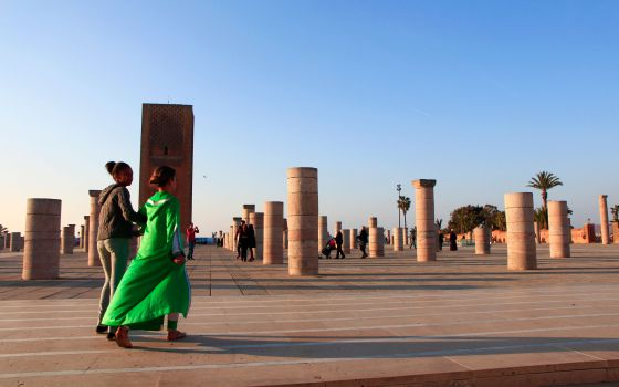 La mezquita inacabada de Rabat