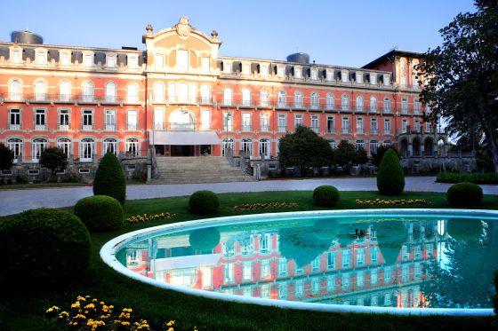 Vidago Palace, mejor. Un hotel portugués banquetes de boda