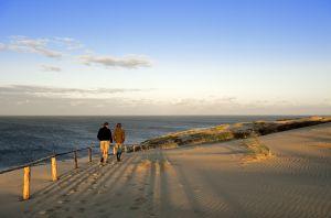Playa del istmo de Curlandia, en Lituania.
