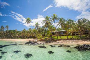 Yemaya Island resort, en la Pequeña Isla del Maíz (Nicaragua).