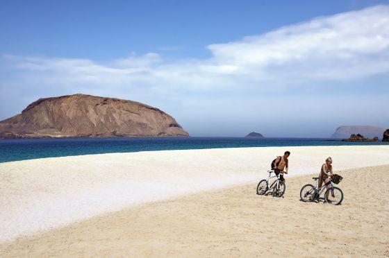 La Graciosa, isla sin asfalto