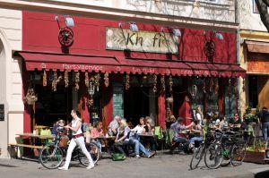 Un restaurante en el barrio de Kreuzberg, en Berlín.