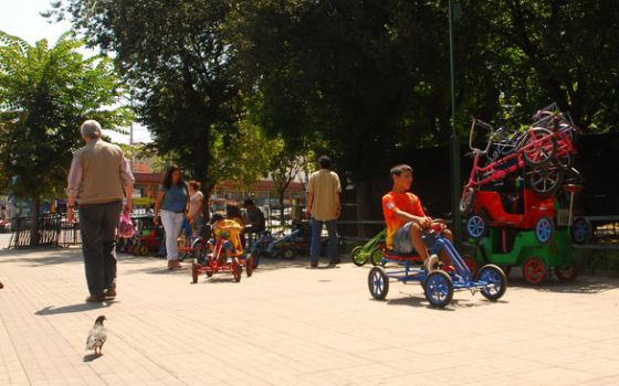 La plaza más popular de Valparaíso