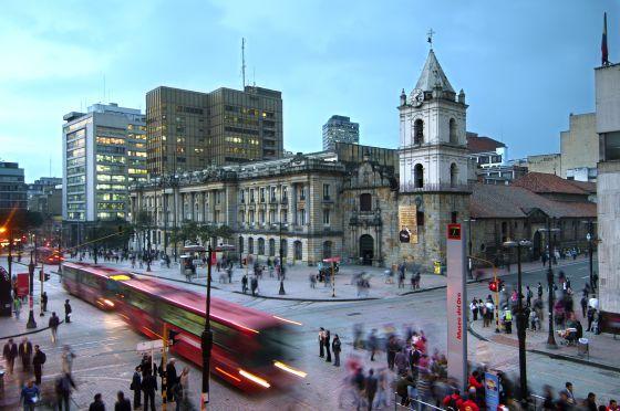 El palacio de San Francisco (1917) de Bogotá.