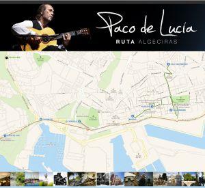 Ruta de Paco de Lucía en Algeciras.